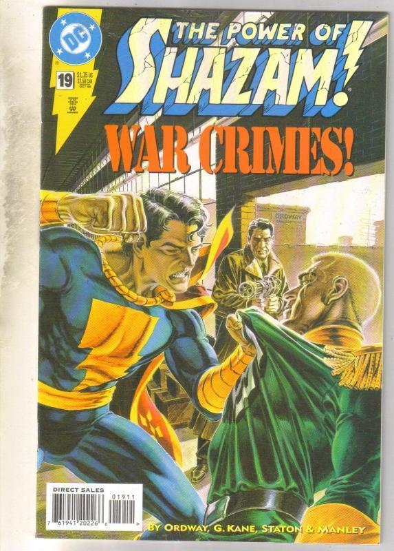 Power of Shazam #19 comic book near mint 9.4