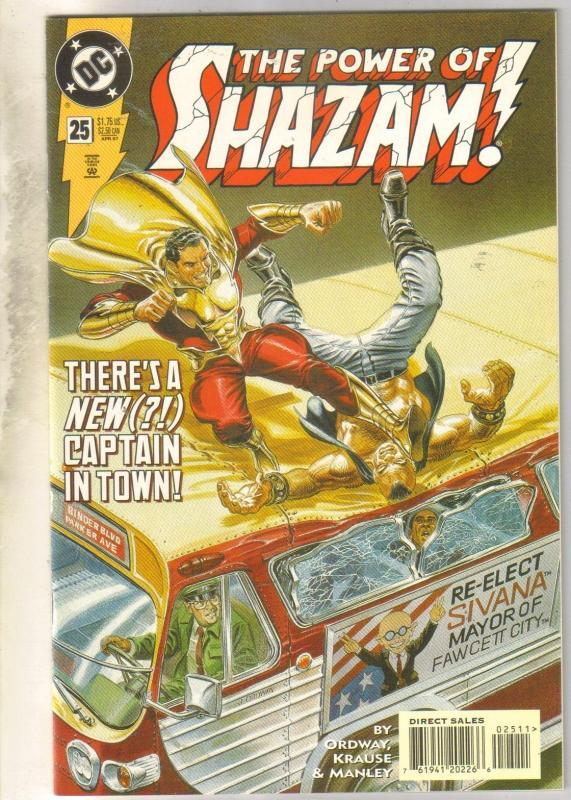 Power of Shazam #25 comic book near mint 9.4