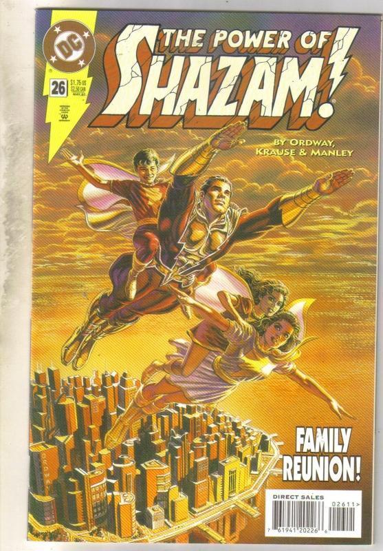 Power of Shazam #26 comic book near mint 9.4