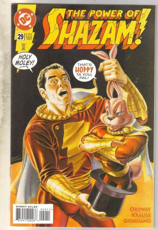 Power of Shazam #29 comic book near mint 9.4