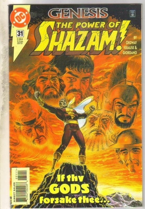 Power of Shazam #31 comic book near mint 9.4