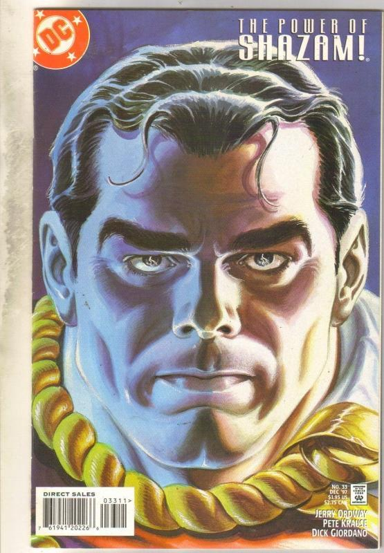 Power of Shazam #33 comic book near mint 9.4