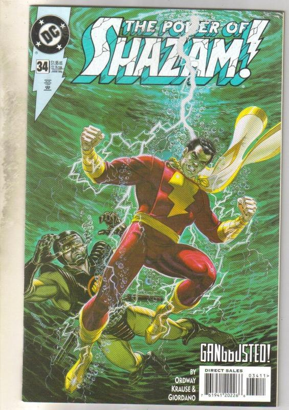 Power of Shazam #34 comic book mint 9.8