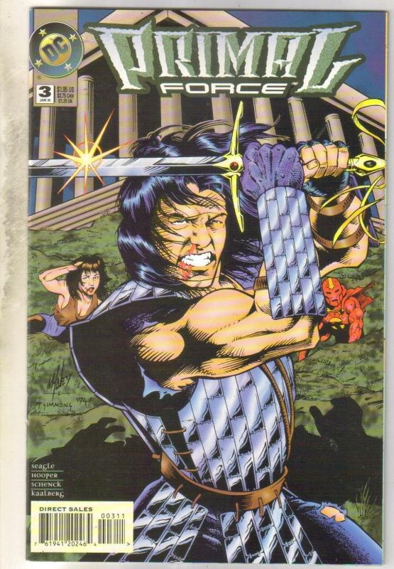 Primal Force #3 comic book near mint 9.4