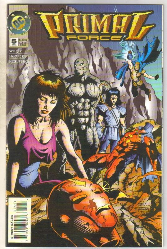 Primal Force #5 comic book near mint 9.4