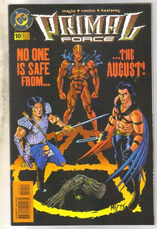 Primal Force #10 comic book near mint 9.4