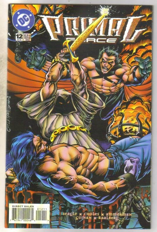 Primal Force #12 comic book near mint 9.4