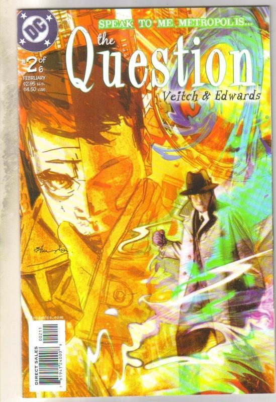 The Question #2 comic book near mint 9.4