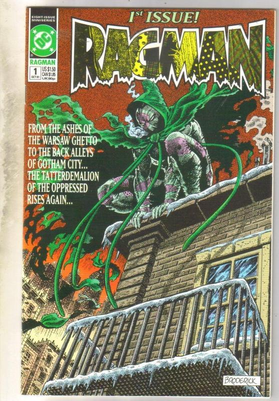 Ragman #1 comic book mint 9.8