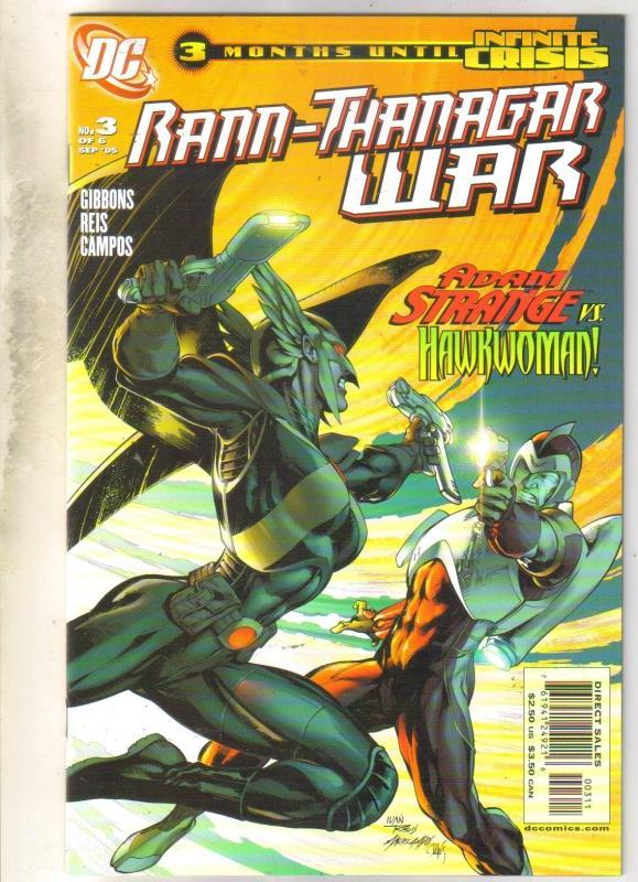 Rann-Thanagar War #3 comic book mint 9.8