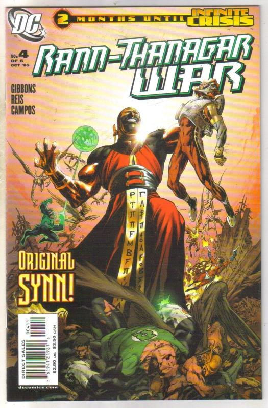 Rann-Thanagar War #4 comic book mint 9.8