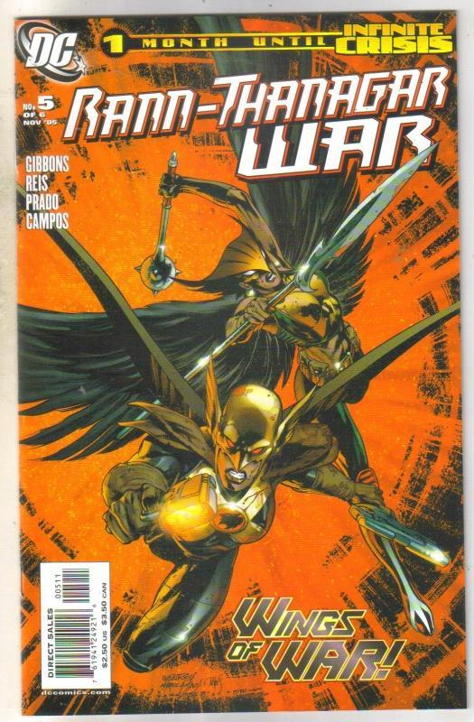 Rann-Thanagar War #5 comic book mint 9.8