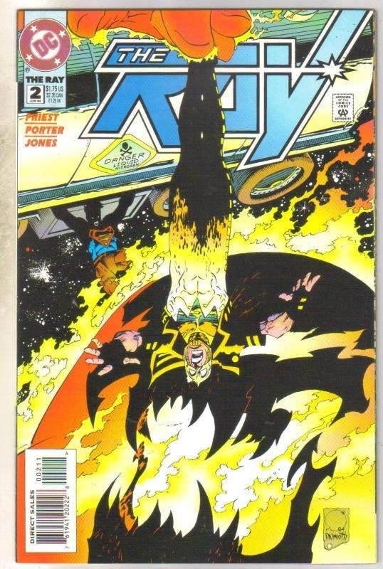 The Ray #2 comic book near mint 9.4