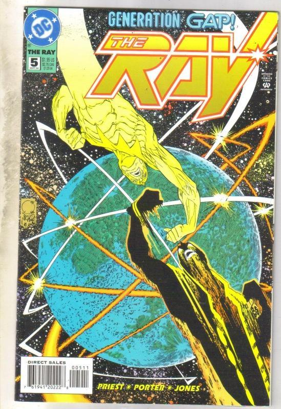 The Ray #5 comic book near mint 9.4