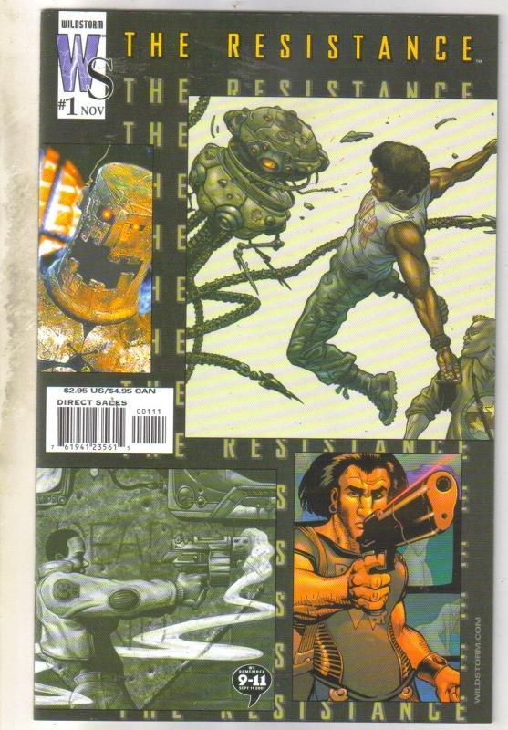 The Resistance #1 comic book near mint 9.4