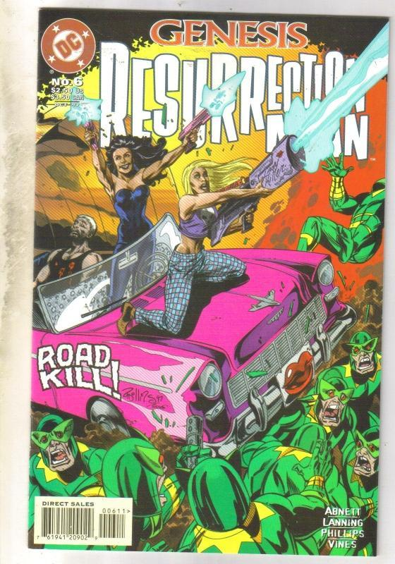 Resurrection Man #6 comic book near mint 9.4