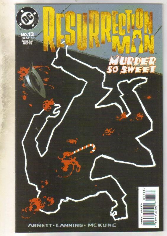 Resurrection Man #13 comic book near mint 9.4