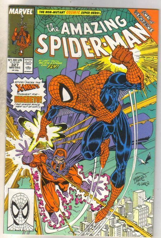 Amazing Spider-man #327 comic book near mint 9.4