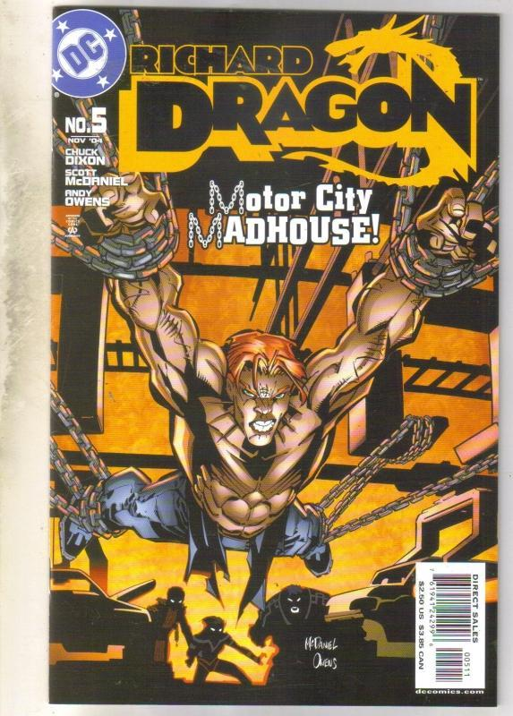 Richard Dragon #5 comic book near mint 9.4