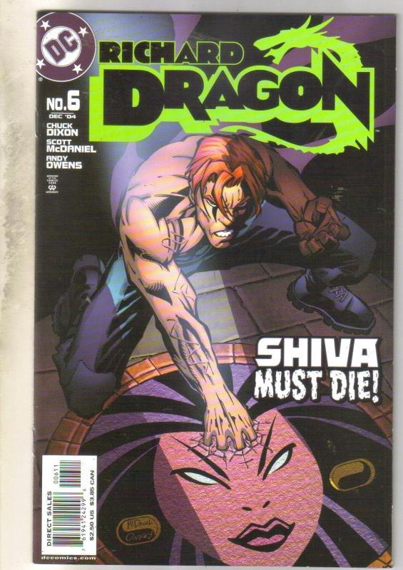 Richard Dragon #6 comic book near mint 9.4