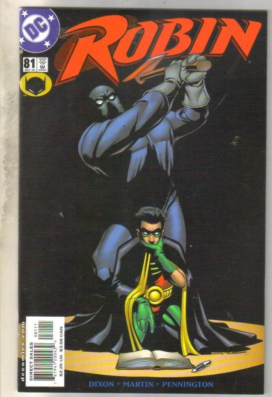 Robin #81 comic book mint 9.8