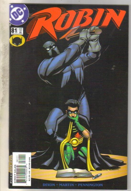 Robin #81 comic book mint 9.8
