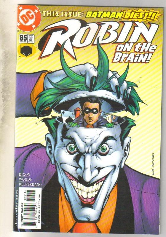 Robin #85 comic book mint 9.8