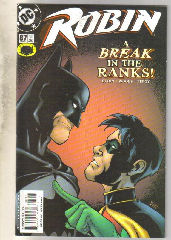 Robin #87 comic book near mint 9.4