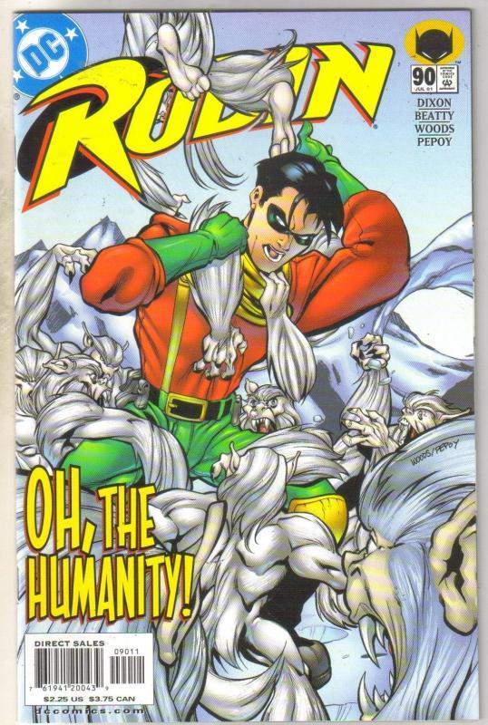 Robin #90 comic book mint 9.8