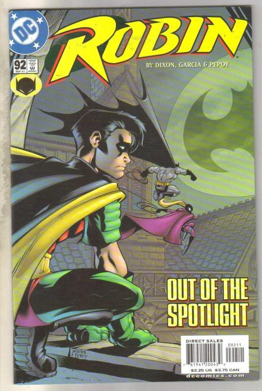 Robin #92 comic book mint 9.8