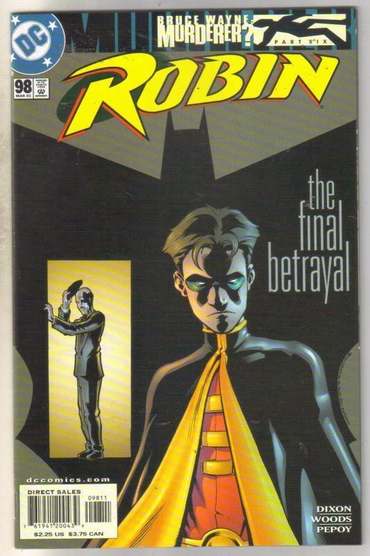 Robin #98 comic book mint 9.8