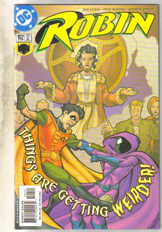 Robin #102 comic book mint 9.8