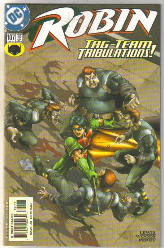 Robin #107 comic book mint 9.8