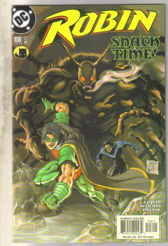 Robin #108 comic book mint 9.8