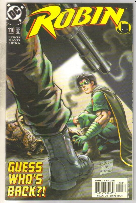 Robin #110 comic book mint 9.8