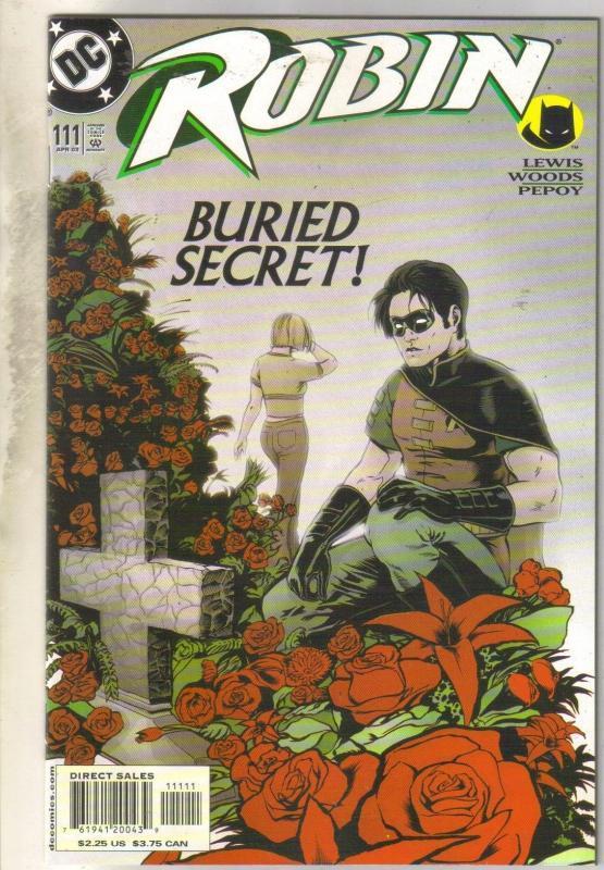 Robin #111 comic book near mint 9.4