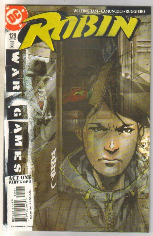 Robin #129 comic book mint 9.8