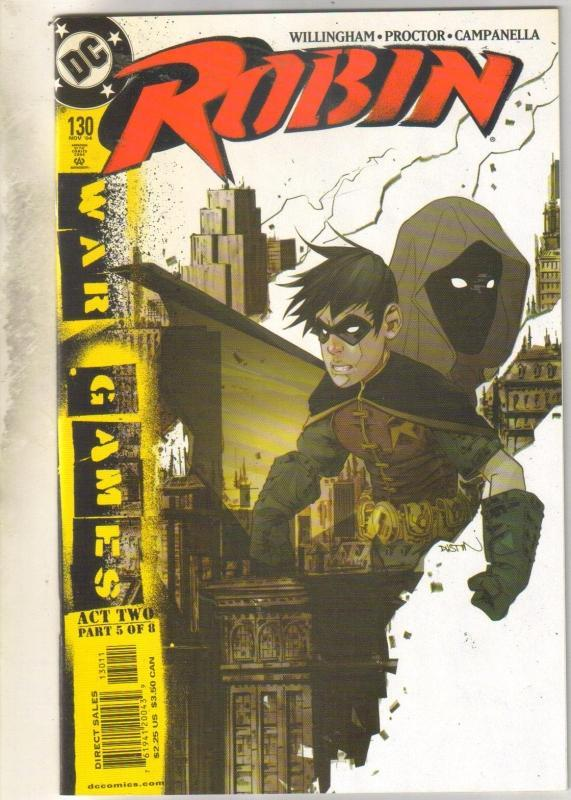 Robin #130 comic book mint 9.8