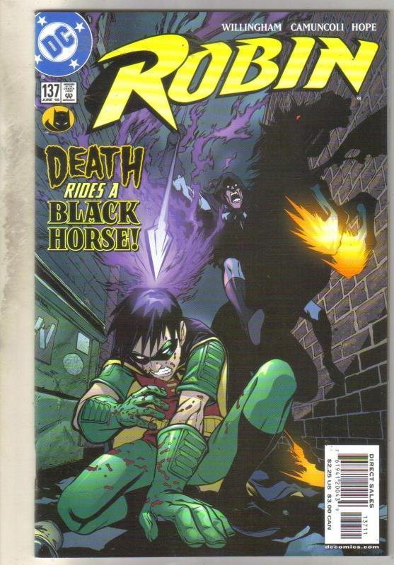 Robin #137 comic book near mint 9.4