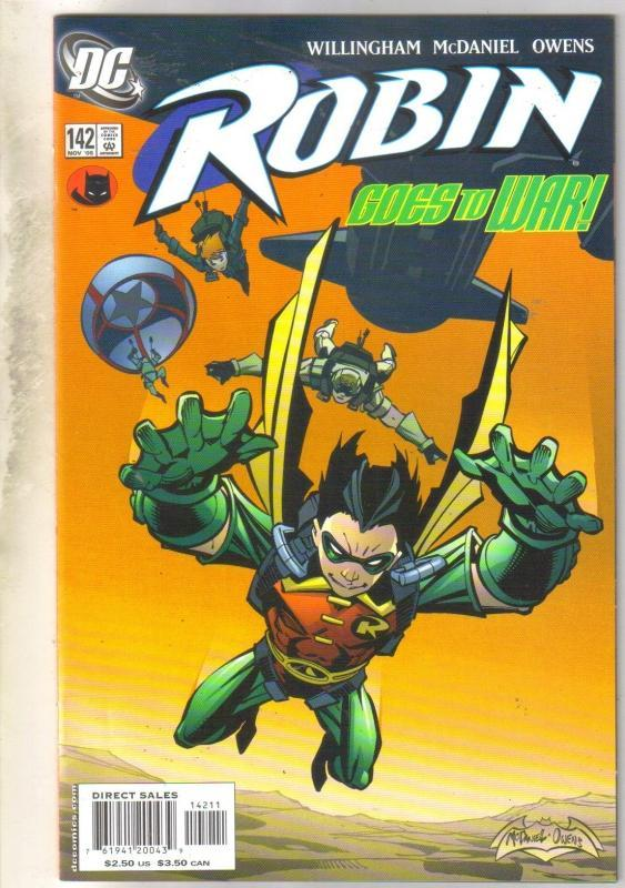 Robin #142 comic book near mint 9.4