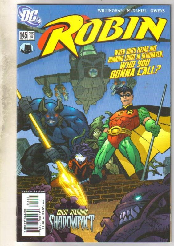 Robin #145 comic book near mint 9.4