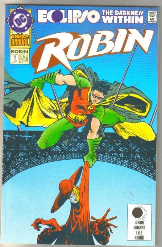 Robin Annual #1 comic book mint 9.8