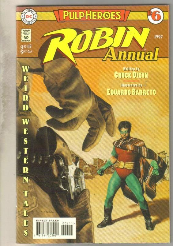 Robin Annual #6 comic book mint 9.8