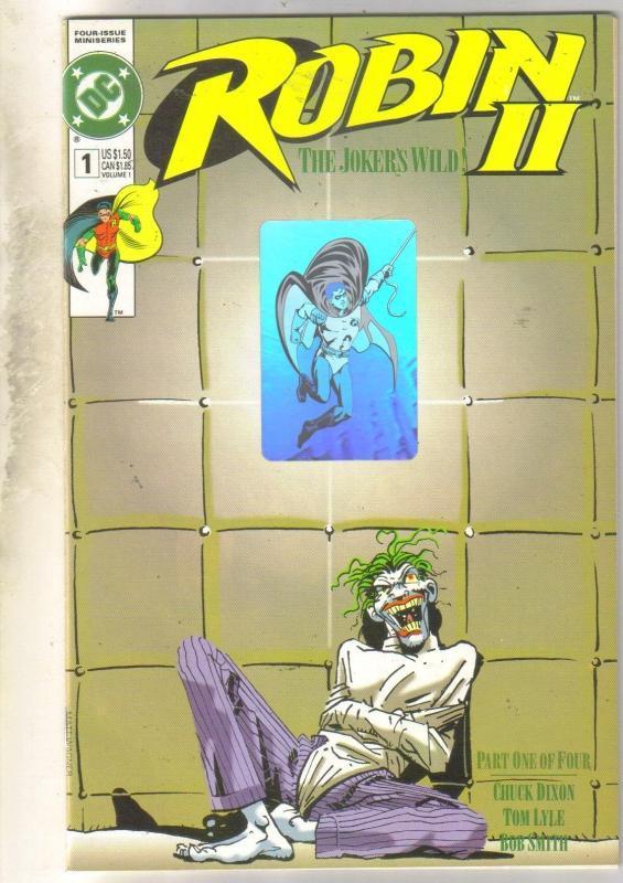 Robin II #1 comic book mint 9.8