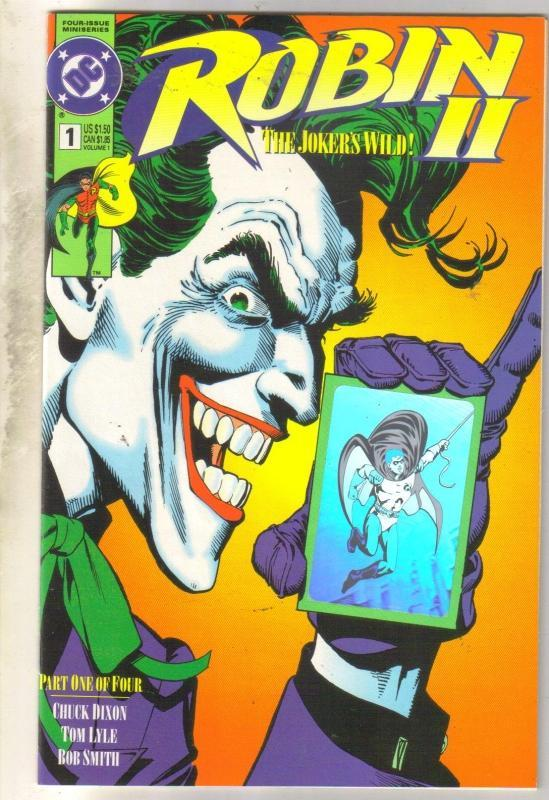 Robin II #1 comic book mint 9.8
