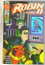 Robin II #2 comic book near mint 9.4