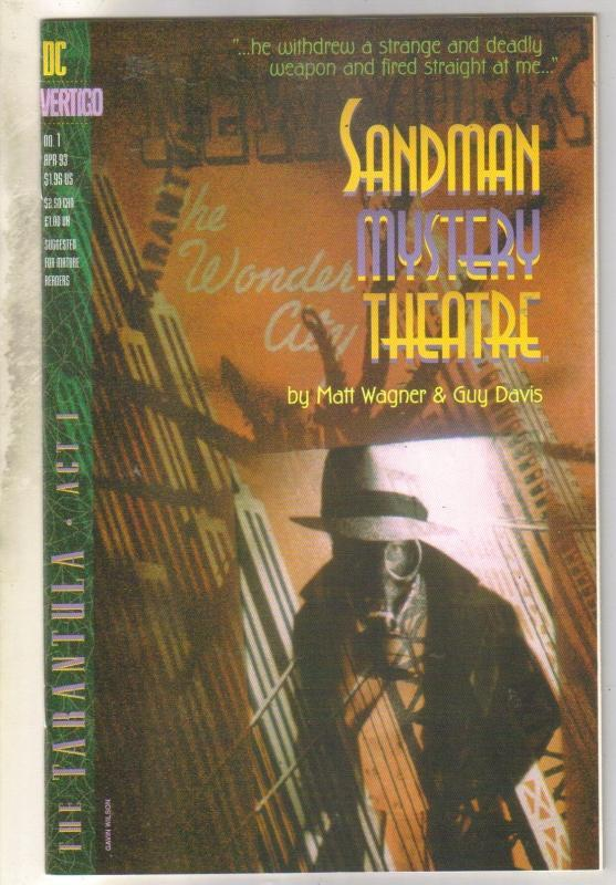 Sandman Mystery Theater #1 comic book mint 9.8