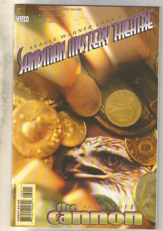 Sandman Mystery Theater #60 comic book near mint 9.4