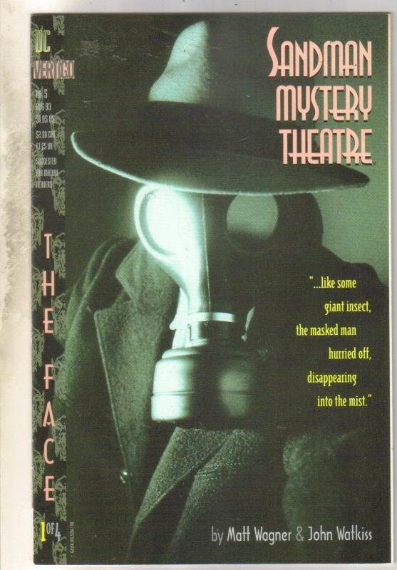 Sandman Mystery Theater #5 comic book near mint 9.4