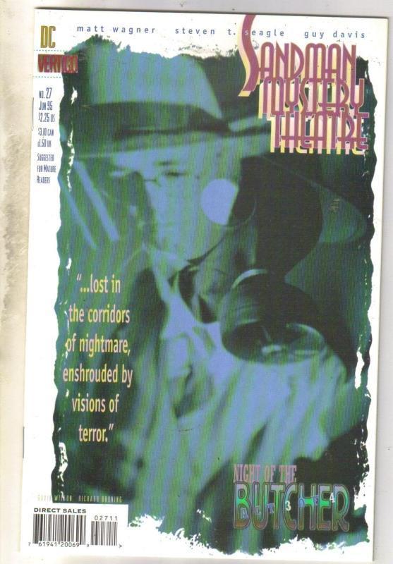 Sandman Mystery Theater #27 comic book near mint 9.4